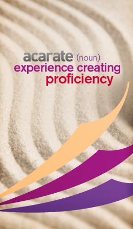 acarate - experience creating proficiency